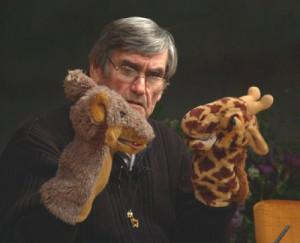 Marshall Rosenberg con la Giraffa e lo Sciacallo
